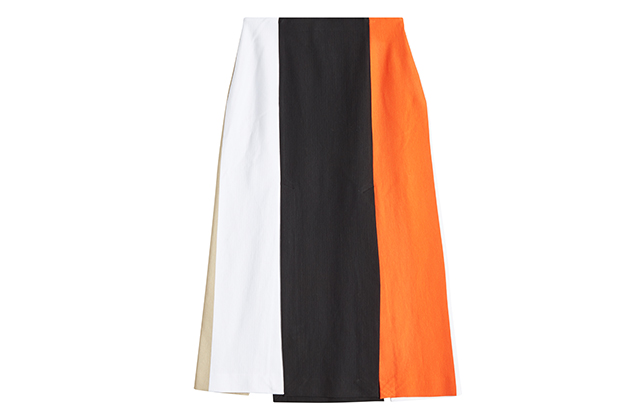 Rosetta Getty split panel skirt, Stylebop.com, Dhs3,310