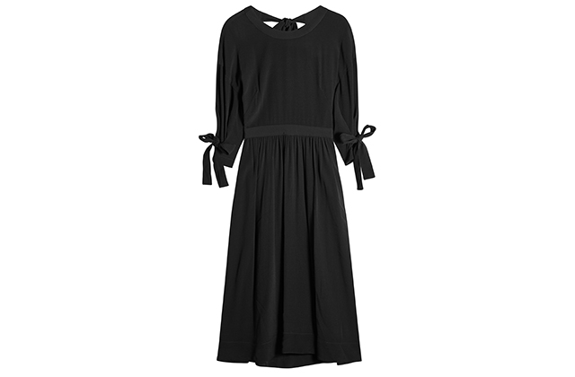 Rosetta Getty midi knot sleeve dress, Stylebop.com, Dhs4,095