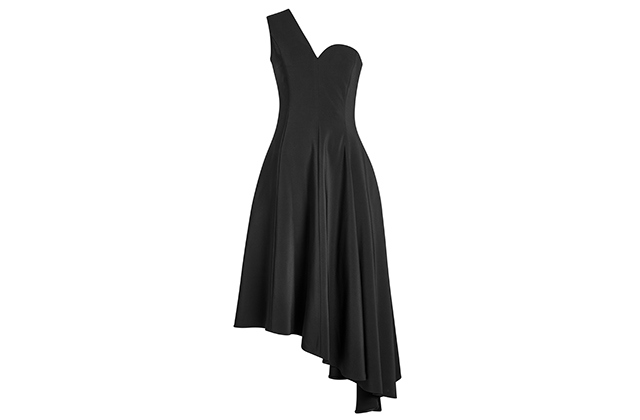 Rosetta Getty one-shoulder asymmetric dress, Stylebop.com, Dhs9,155