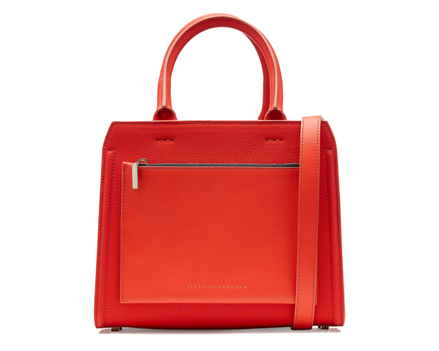 Victoria Beckham Leather City Bag, Dhs6,182 at Stylebop.com