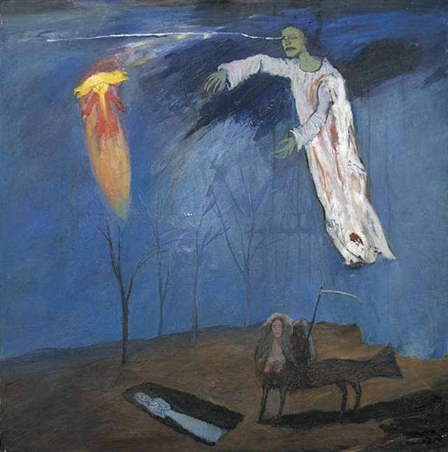 """Meeting with Death"". Sergey Maslov.1998"