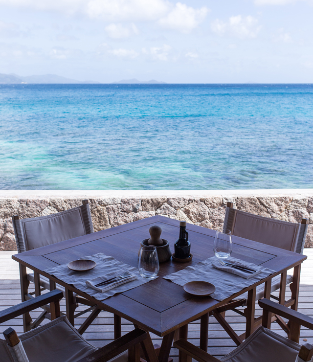 Lunch at Six Senses Zil Pasyon