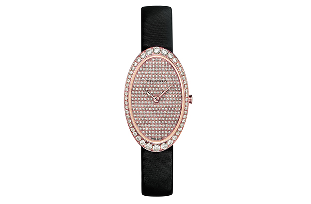 Tiffany Cocktail 2-Hand Pavé watch, Dhs80,805