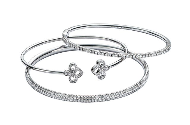 Tiffany & Co. Fleur de Lis bracelets, price available upon request