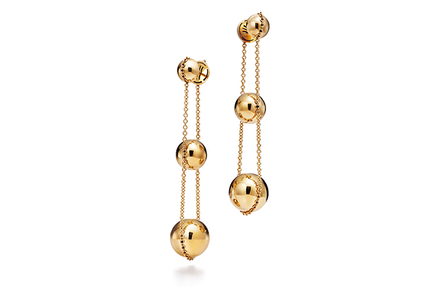 Tiffany & Co. HardWear bead double drop earrings, Dhs10,600