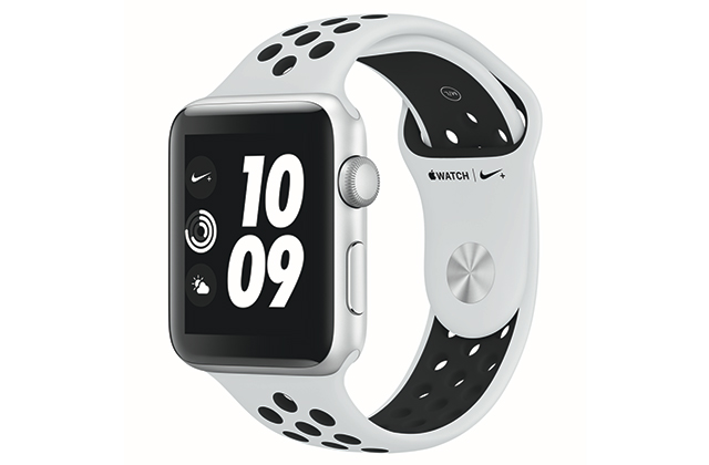 Apple Watch Nike+ Silver Aluminum Case with Pure Platinum/Black Nike Sport Band, Dhs1,469