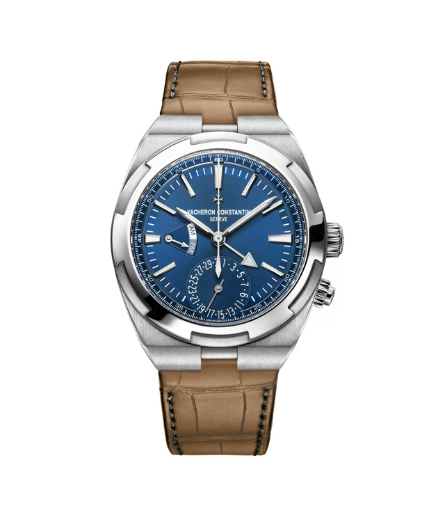 Vacheron Constantin's Dual Time in leather