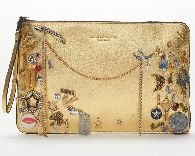 Marc Jacobs Encrusted Envelope Clutch