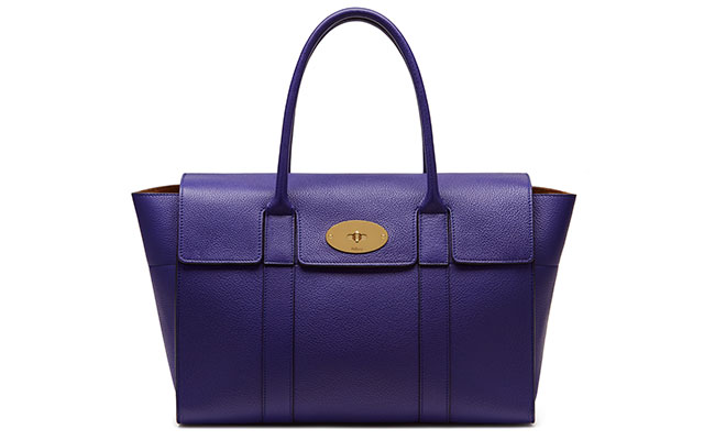 Small Bayswater classic grain in indigo, Dhs5,273