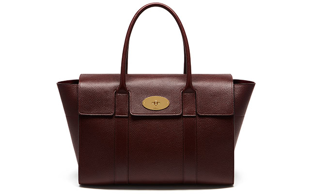 Bayswater natural grey veg tanned in oxblood, Dhs4,743