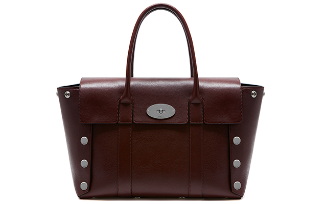 Catwalk Bayswater N smooth calf with studs in oxblood, Dhs5,803
