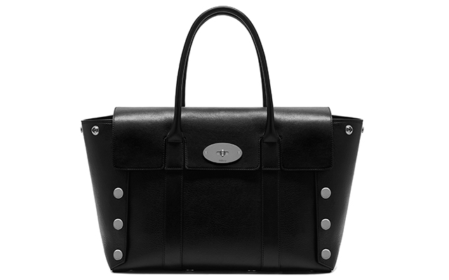 Catwalk Bayswater N smooth calf with studs in black, Dhs5,803