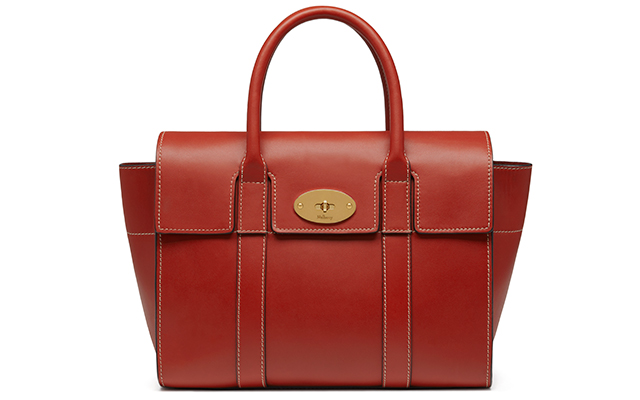 Small Bayswater sleek calf in rust, Dhs6,094