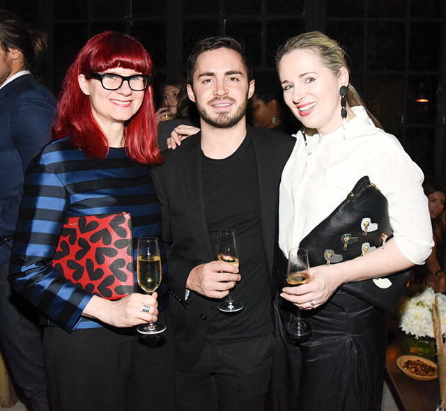 Glynis Traill-Nash, Oliver Lloyd and Clare Press