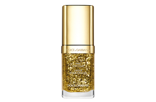 Top Coat Lacquer in Dazzling Gold
