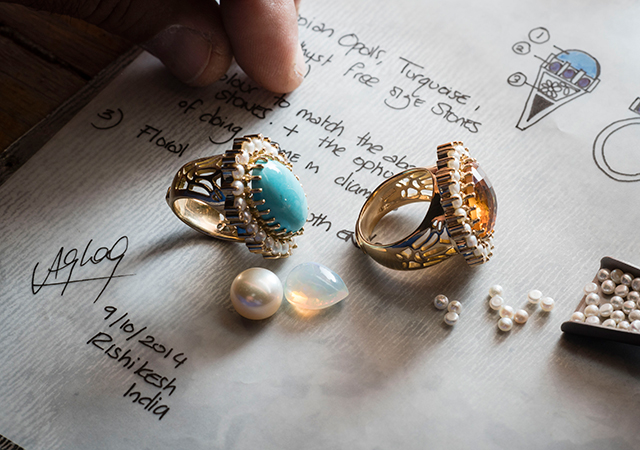 Azza Fahmy unveils limited edition rings
