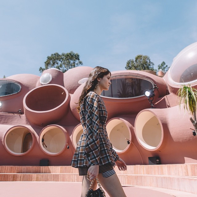 Raf Simons presents Dior Cruise 2016 at Pierre Cardin's Bubble Palace