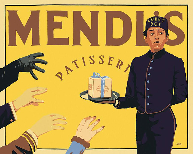 A Wes Anderson themed art show is coming to New York