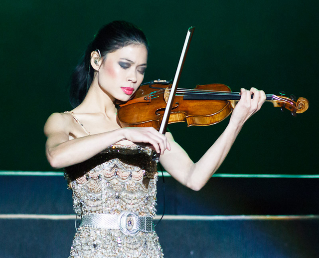 Vanessa-Mae to compete at the Sochi Winter Olympics