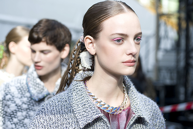 Backstage Beauty: Chanel Autumn/Winter 14