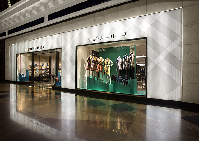 Buro 24/7 Middle East Exclusive: Burberry open new flagship in Dubai