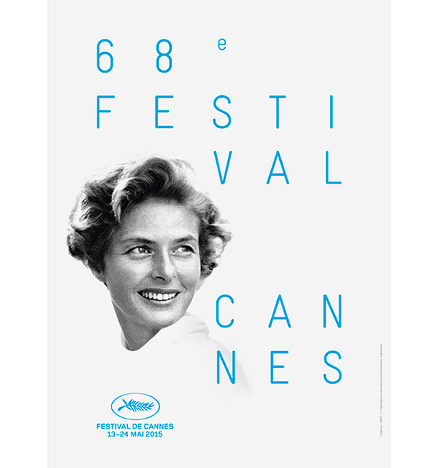 Revealed: The new Cannes 2015 poster honouring Ingrid Bergman