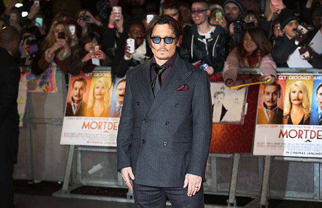 Johnny Depp and Amber Heard hit the red carpet for the Mortdecai premiere in London