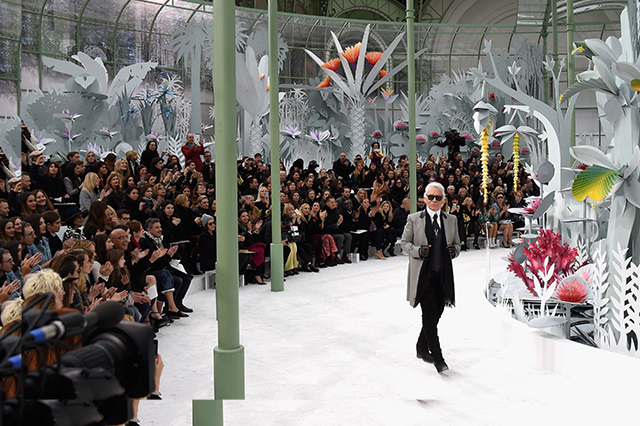 Watch: Karl Lagerfeld takes us through his latest Haute Couture collection for Chanel
