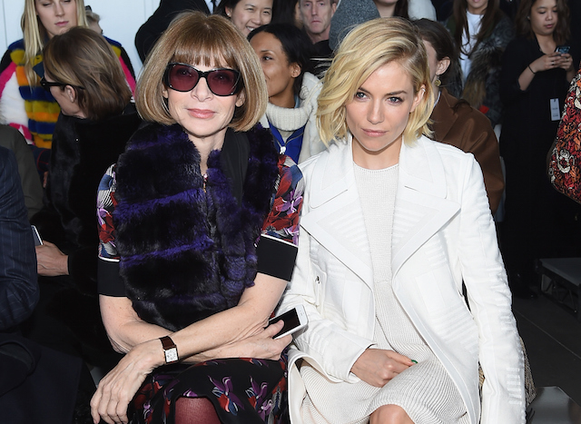 New York Fashion Week: The guests at the Calvin Klein show