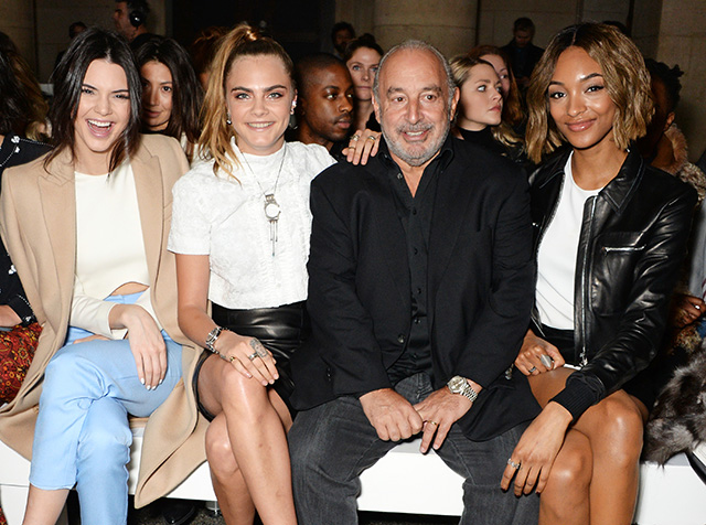 London Fashion Week: The guests at the Topshop Unique show