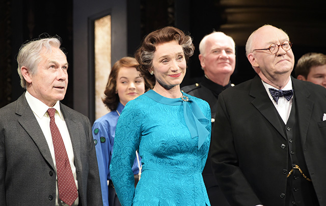 Kristin Scott Thomas reigns the West End in her first appearance as the Queen