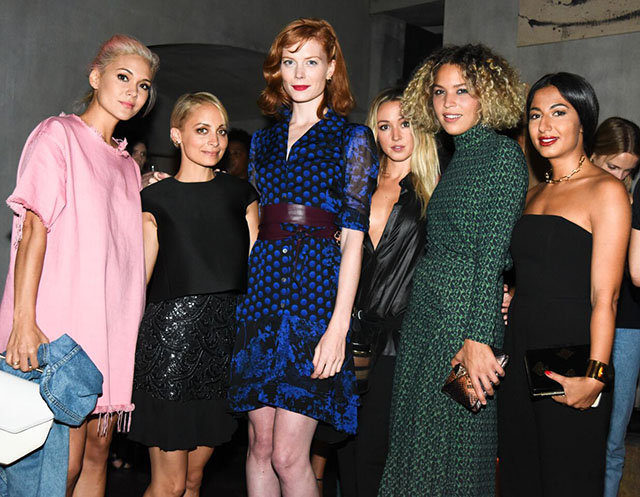 Farfetch and Nicole Richie celebrate Unfollowers film during New York Fashion Week