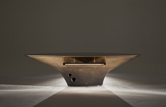 The sculpturally inspired half a million dollar piano by Goldfinch