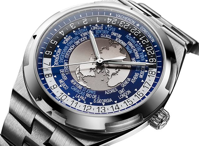 Vacheron Constantin launches Overseas world time watch