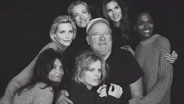 Watch now: Peter Lindbergh reunites some of the world's most iconic models