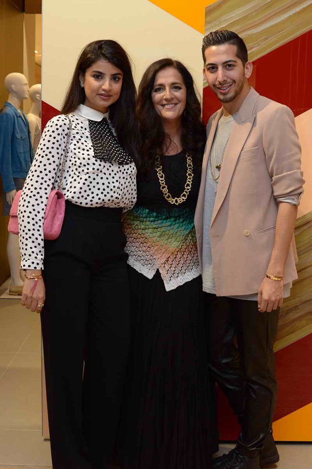 Angela Missoni officially re-opens the Missoni flagship at the Mall of Emirates
