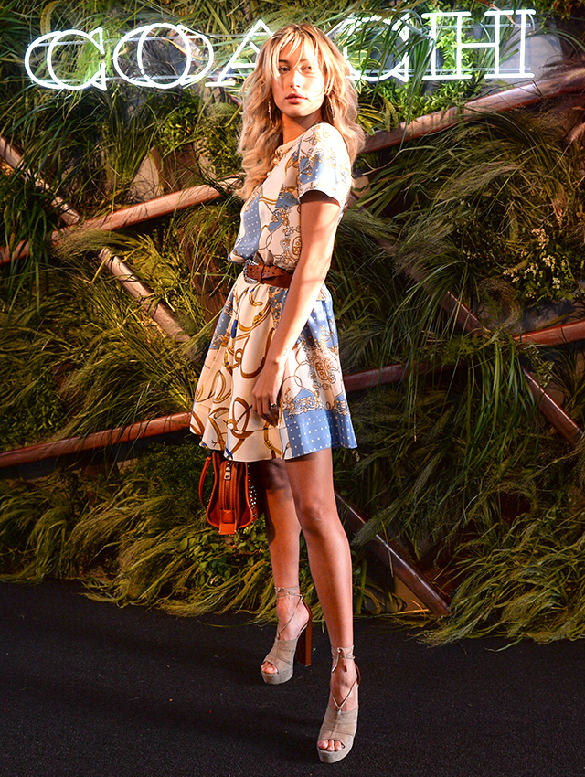 Inside Coach's 2016 High Line summer party