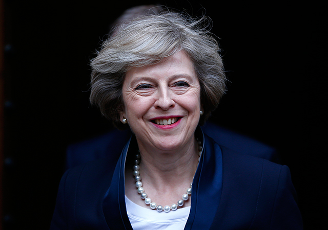 Theresa May is Britain's new Prime Minister