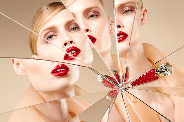 Christian Louboutin launches Loubilaque lip line