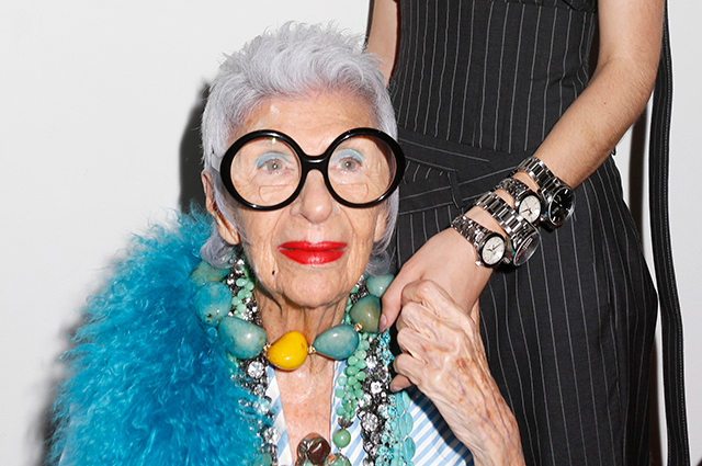 Tag Heuer and Iris Apfel introduce the new Link Lady collection