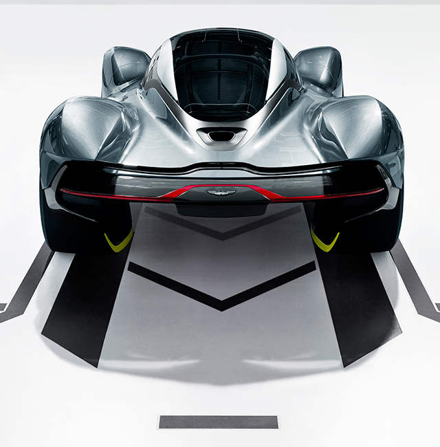 Aston Martin unveils Red Bull hypercar