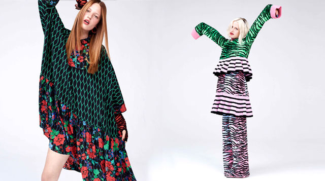 The entire Kenzo x H&M look book is here