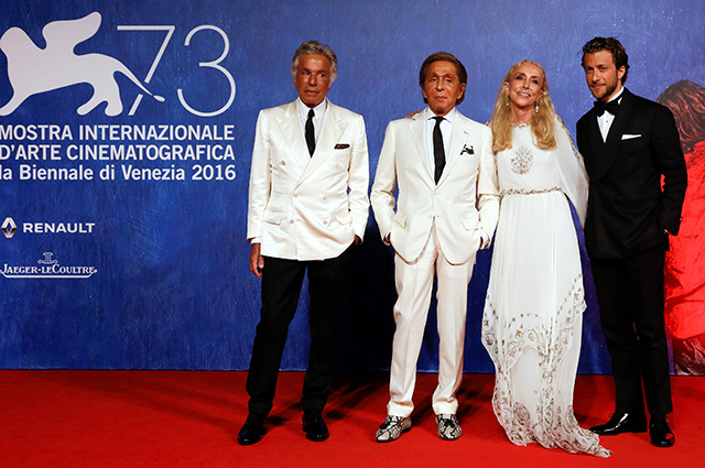 Premiere of Franca: Chaos and Creation at the Venice Film Festival