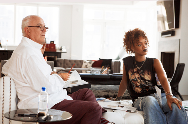 First look: Rihanna x Manolo Blahnik collection