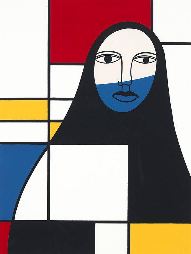 """Living in America has allowed me freedom and peace to flourish and grow"" – Arab-American artist, Helen Zughaib"