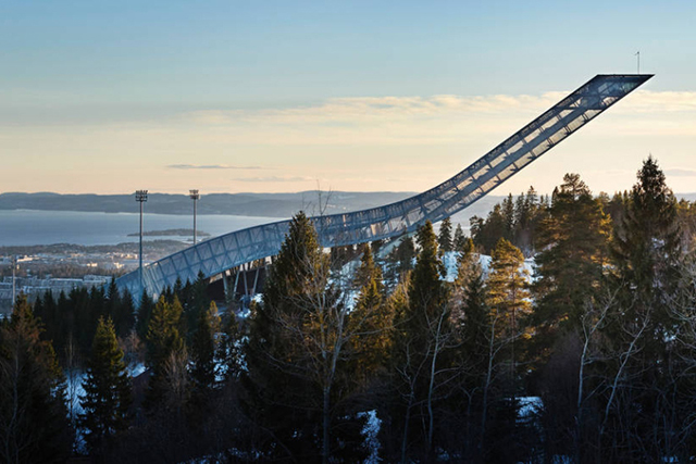 Airbnb offer a nights stay on a ski jump