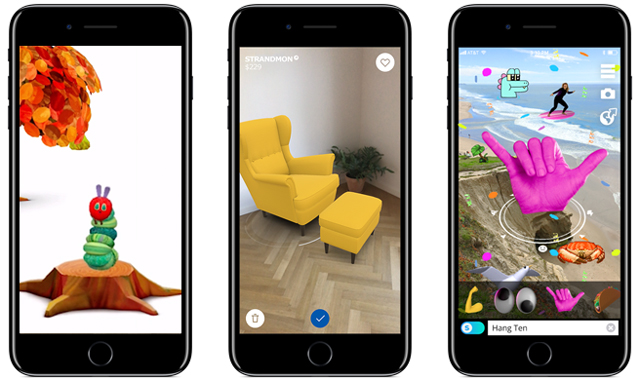 Apple's augmented reality, plus iOS11 is coming