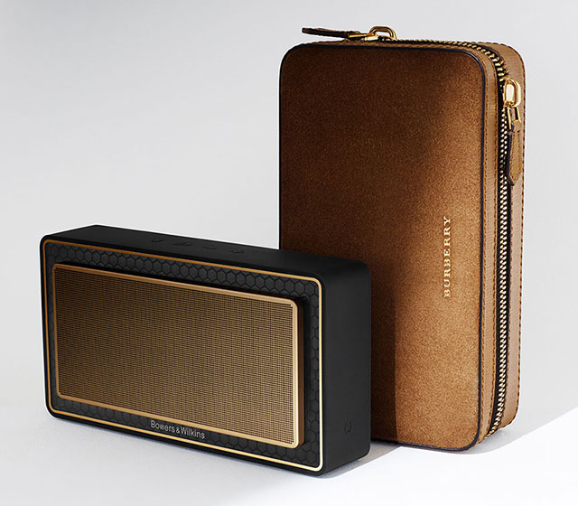 Burberry x Bowers & Wilkins: Bespoke designer speakers
