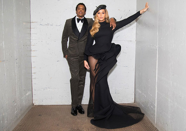 Beyoncé  just stepped out wearing Beirut label Azzi & Osta