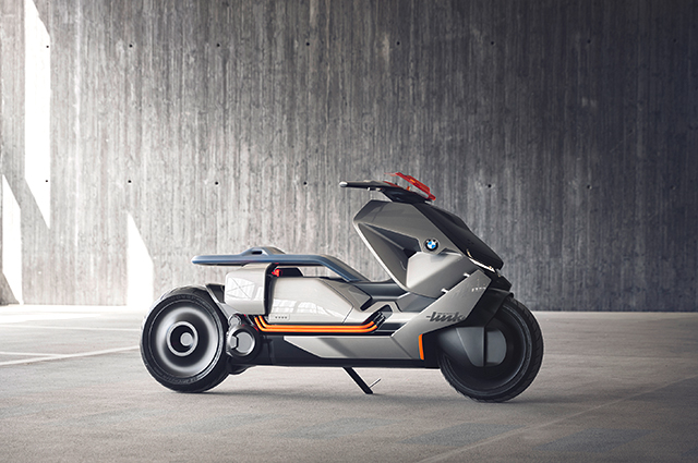Introducing the BMW Motorrad Concept Link: The bike of the future